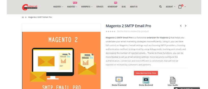Magento 2 SMTP Email Pro