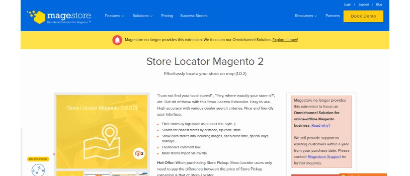 Store Locator for Magento 2 by Magestore